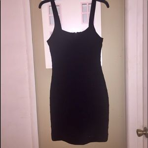 Express Little Black Banded Dress Size XS NWT